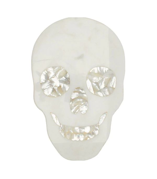Skull Marble Cheese Board