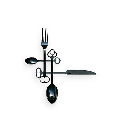 Black Keytlery Cutlery Set
