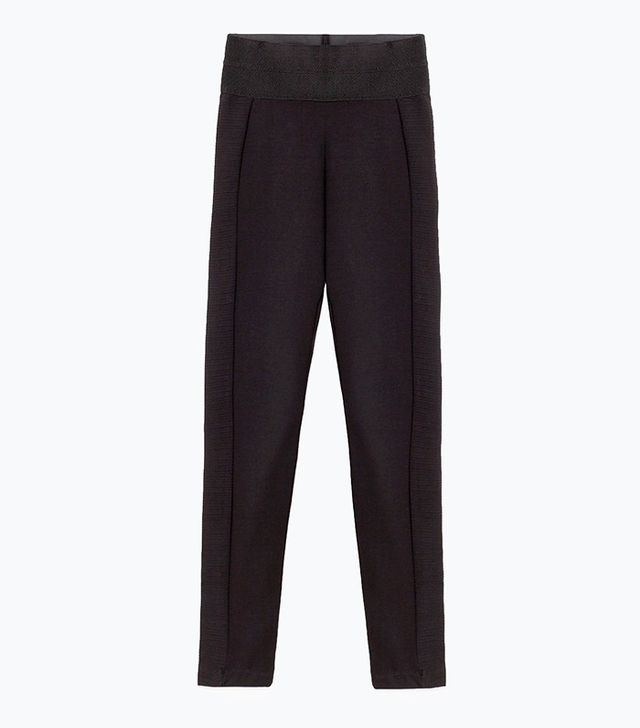 Zara Wide Waistband Leggings