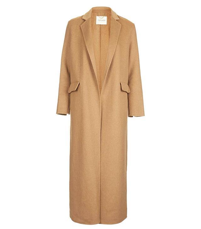 Topshop Wool Slouch Coat