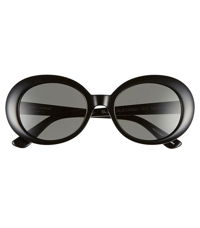 Saint Laurent California 53mm Oval Sunglasses
