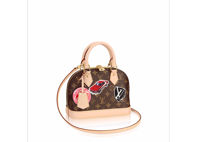 Louis Vuitton Alma BB World Tour Bag