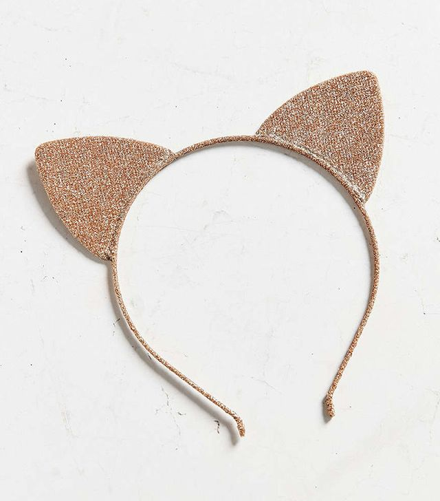 Urban Outfitters Shimmer Cat Ears