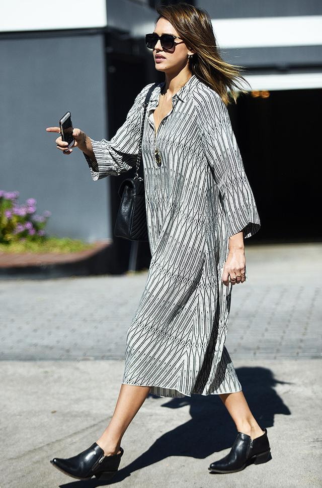 Jessica Alba in New York City
