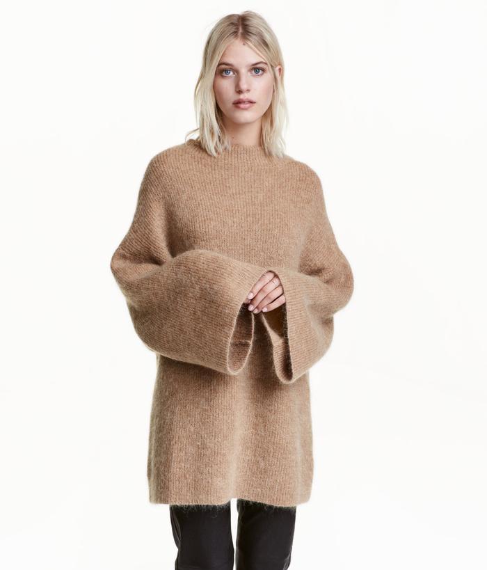 H&M Knit Mock Turtleneck Seater