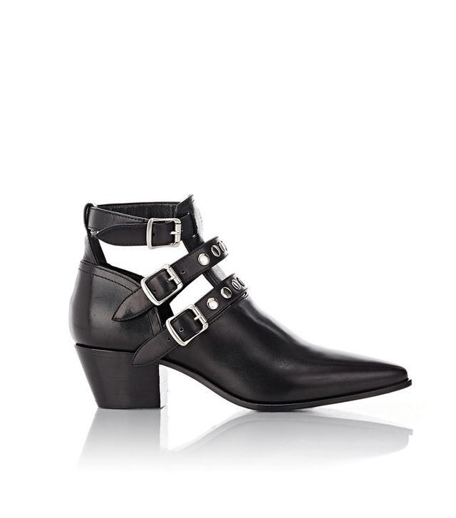 Saint Laurent Rock Ankle Boots