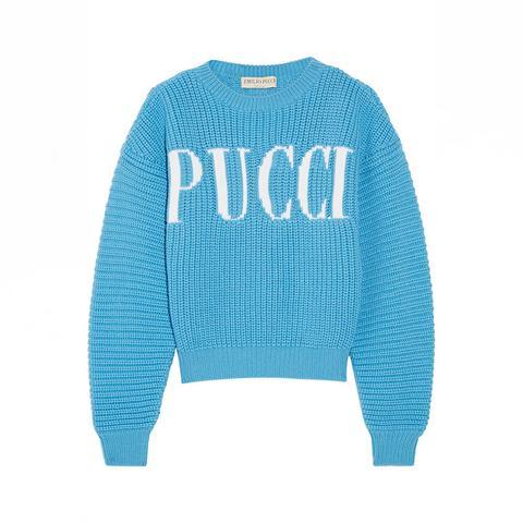 Chunky-Knit Merino Wool Sweater
