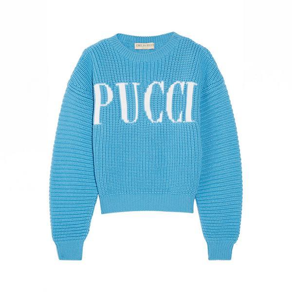 Emilio Pucci Chunky-Knit Merino Wool Sweater