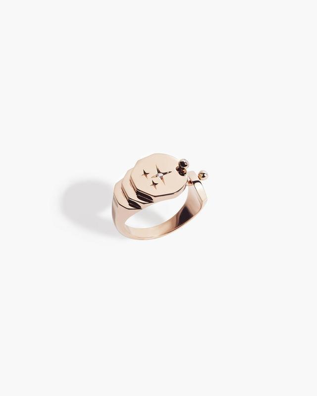 Tina Craig x Nouvel Héritage Sparkles Gold Ring