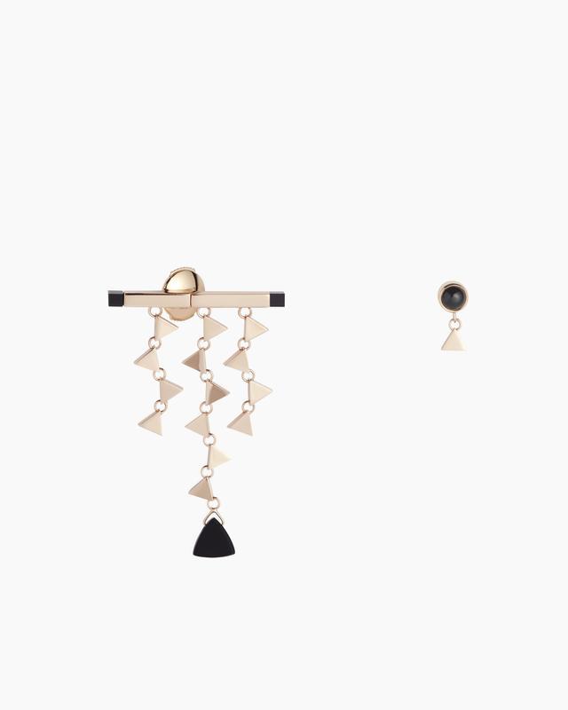 Tina Craig x Nouvel Héritage Onyx Earrings