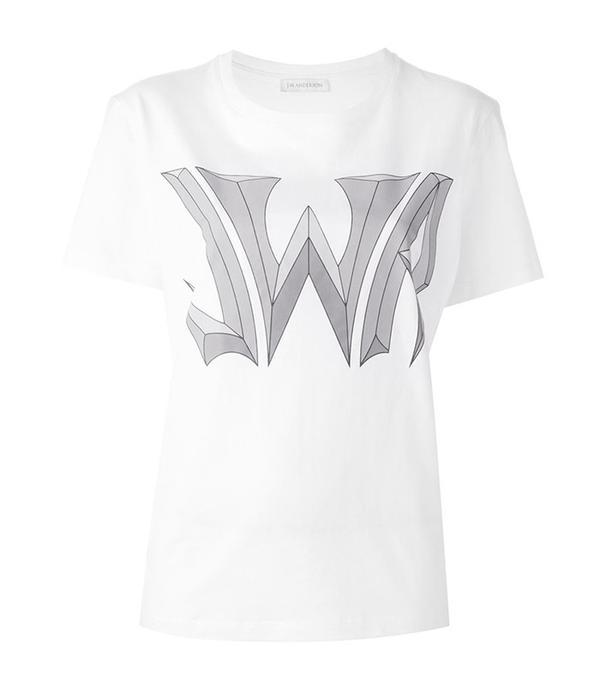 Logo Print T-Shirt by J.W. Anderson