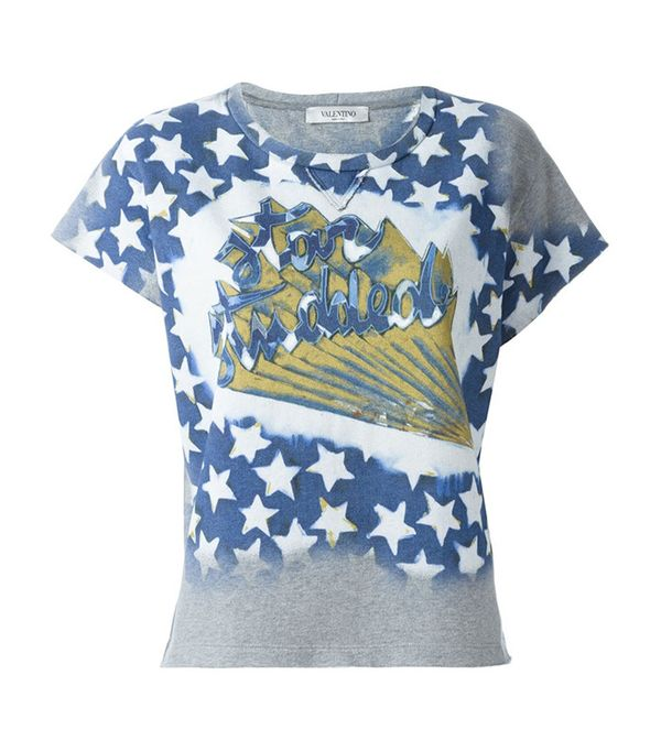 Star Studded T-Shirt by Valentino