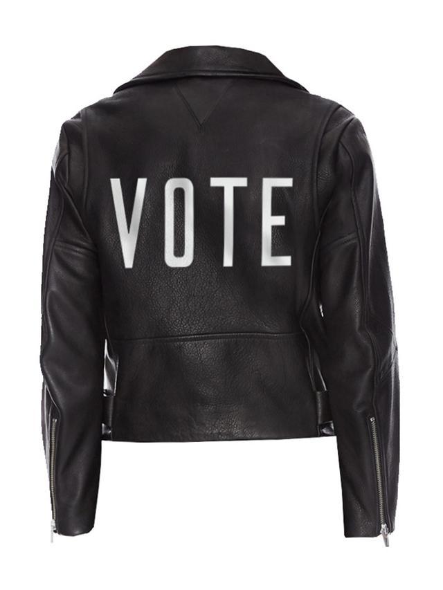 Veda Vote Hand Painted Grand Jacket