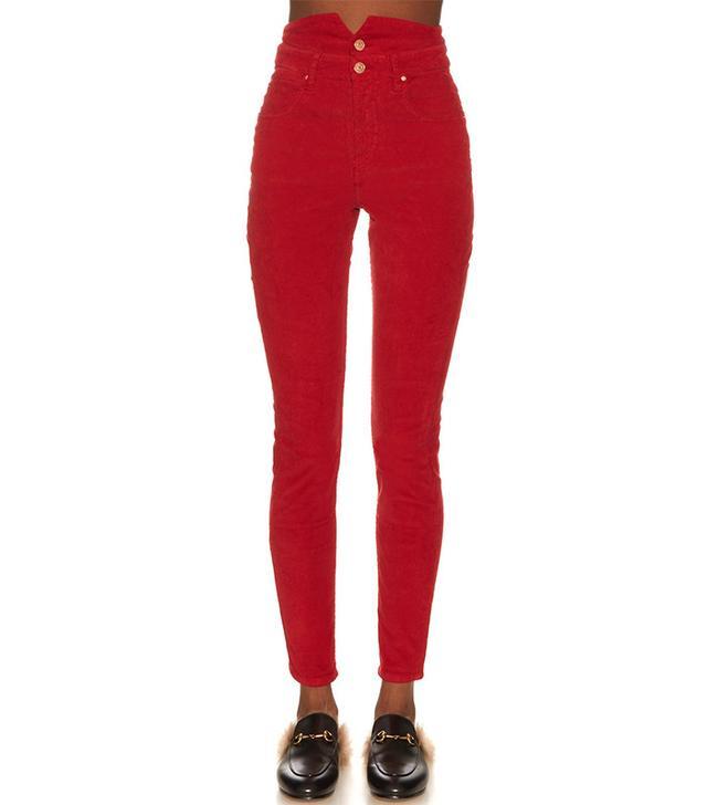 Isabel Marant Étoile Farley Corduroy Trousers