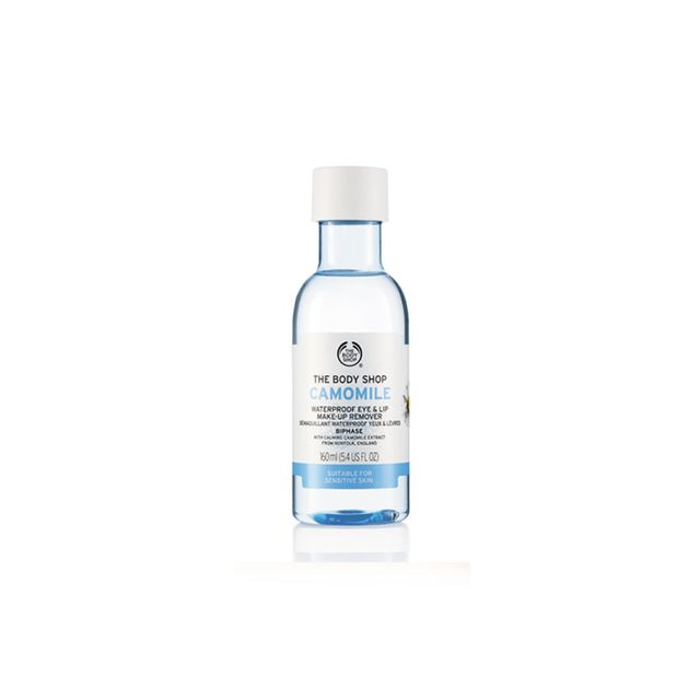 The Body Shop Camomile Waterproof Eye and Lip  Make-up Remover