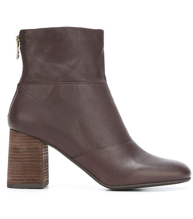 See by Chloé Mila Boots in Brown Leather