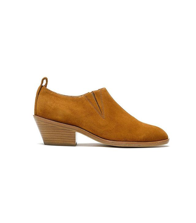 Rag & Bone Suede Low-Cut Bootie