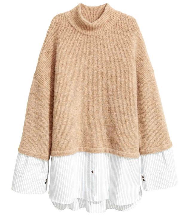 H&M Mohair-Blend Knitted Jumper