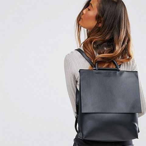 Minimal Square Backpack