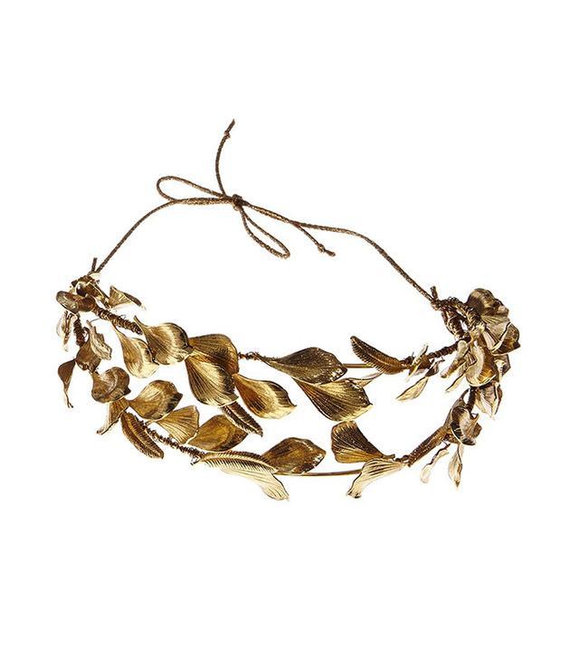 gold headpiece