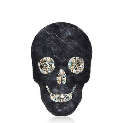Marble Skull Cheeseboard