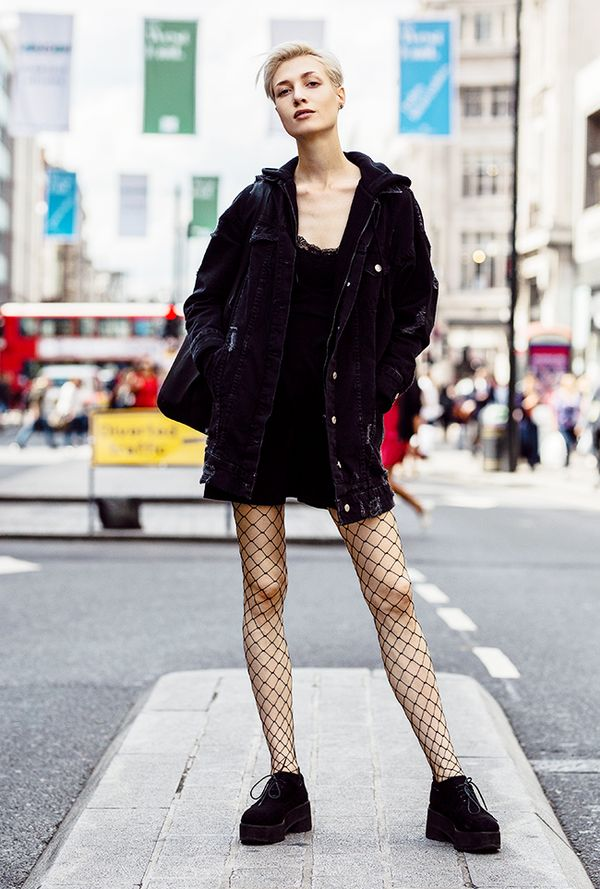 The best london street style looks whowhatwear uk Girl fashion style london