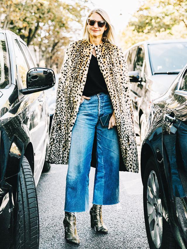 Louis Vuitton Miu Miu street style at Paris Fashion Week S/S 17