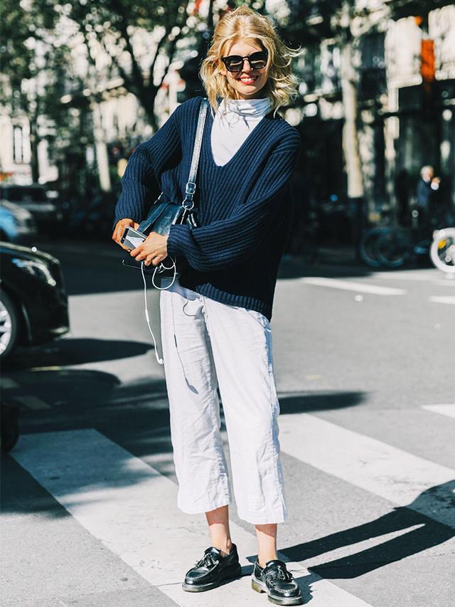 Chanel Ellery Street style at Paris Fashion Week