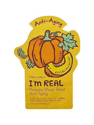 TonyMoly I'm Real Pumpkin Mask Sheet