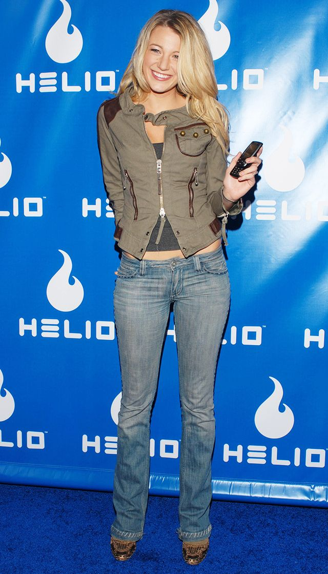 Blake Lively at Helio event