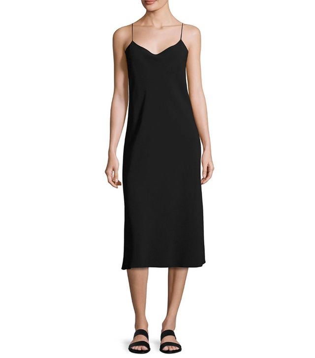 Theory Telson Rosina Crepe Slip Dress