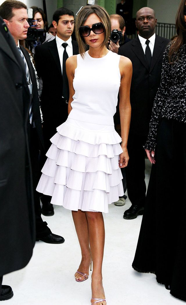 Victoria Beckham at Chanel Ready to Wear Spring-Summer 2007 Fashion Show