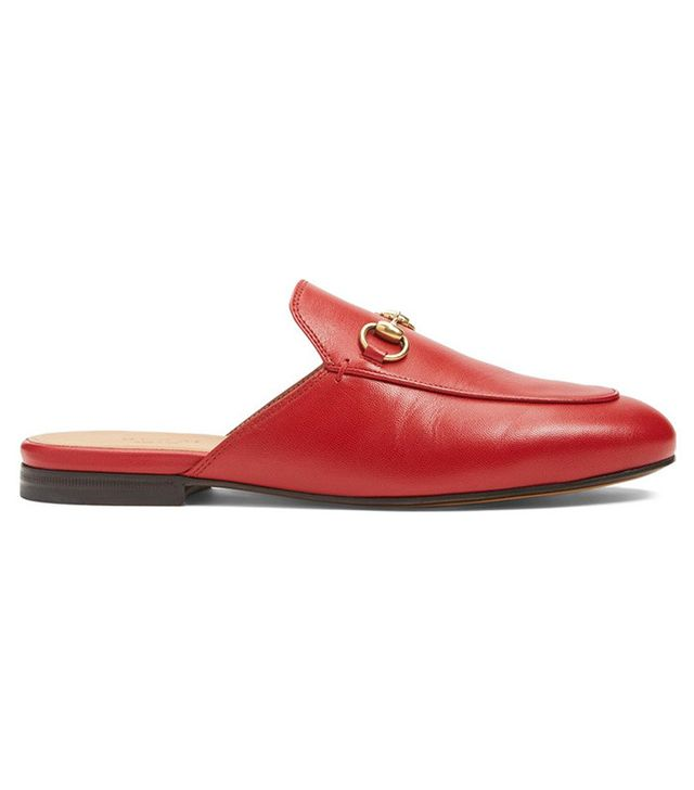 Gucci Princetown Mule Loafers