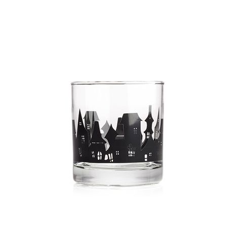 Haunted House Village Glass