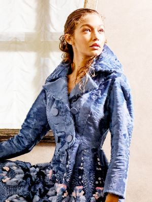 Karl Lagerfeld and Gigi Hadid Team Up for This Stunning Shoot