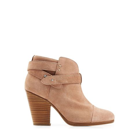 Suede Harrow Ankle Boots
