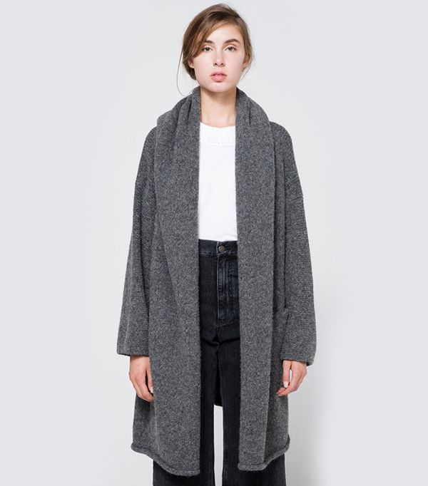 Lauren Manoogian Capote Coat in Charcoal