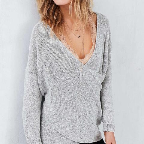 Sunny Surplice Sweater