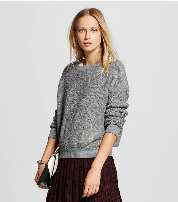 WhoWhatWear Women's Boucle Sweater