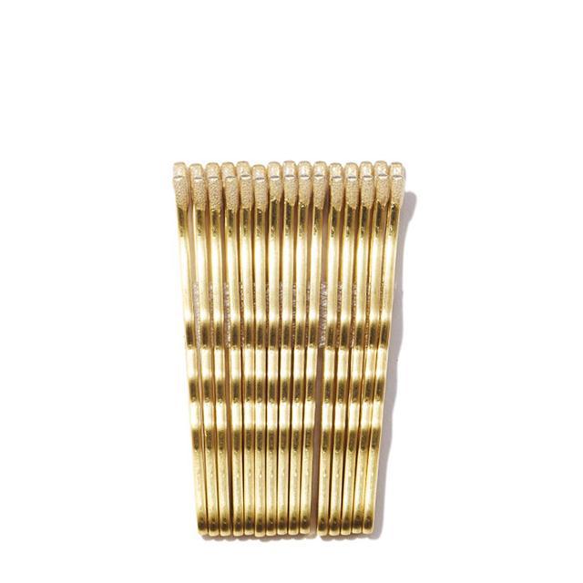 gold bobby pins
