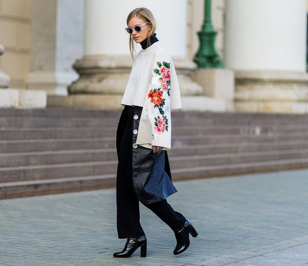 Style Notes: Embellished sleeves should be a focus for making your look stand out.