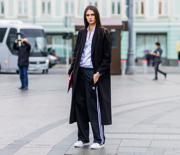 Style Notes: You can't go wrong with a classic tailored black coat. Make it oversize for a more masculine look.