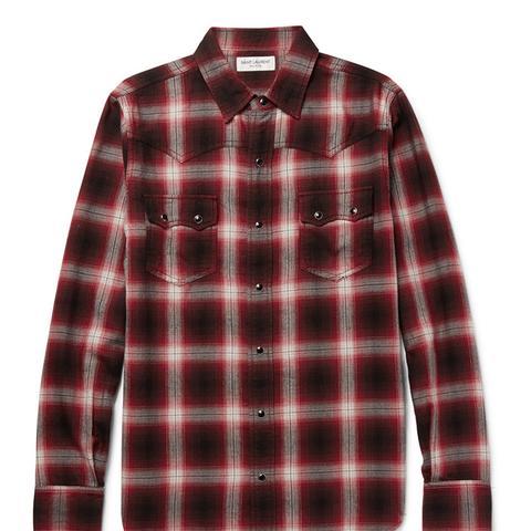 Nashville Slim-Fit Flannel Shirt