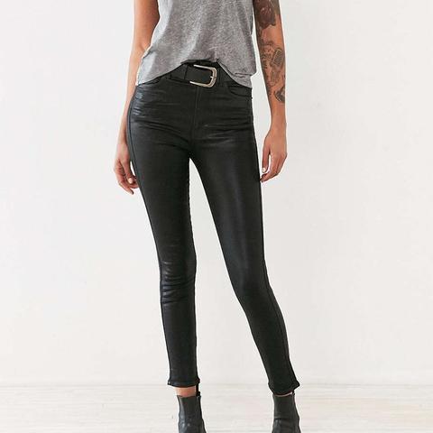 Roxanne Coated Skinny Jean