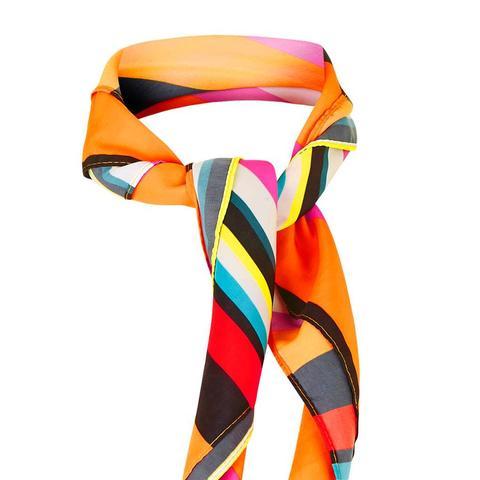 Rio Stripe Print Neckerchief