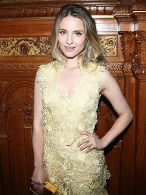 Dianna Agron's Wedding Dress Has Everyone Talking