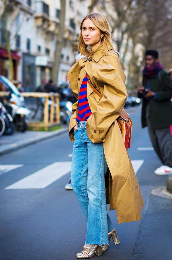 On Pernille Teisbaek: Gucci shoes;Chloé bag.