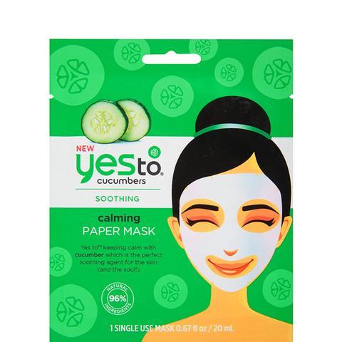 Cucumbers Calming Paper Mask