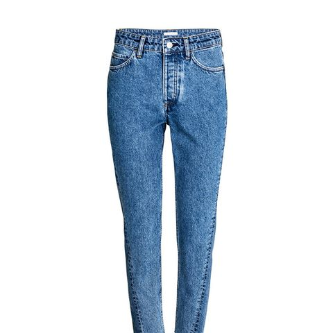 Straight High Jeans