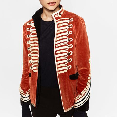 Military Velvet Jacket